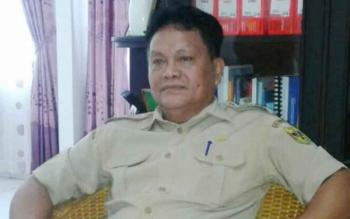 Kepala Disperindag Gumas, Yulianus H Umar.