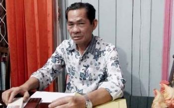 Ketua III Assosiasi Petani Kelapa Sawit kabupaten Lamandau, GMA Badrun.