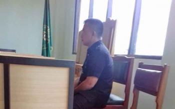 Rudiansyah, Satpam PT Task II yang terlibat kasus pemukulan.