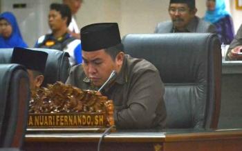 Anggota DPRD Kabupaten Barito Utara, Helma Nuari Fernando.