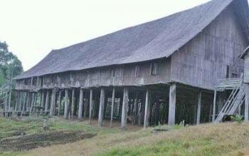 Rumah betang Tumbang Gagu di Kotim menjadi nominasi dalam ajang penghargaan sebagai situs bersejarah populer