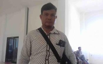Harnes, keluarga Yanto cs yang dijadikan saksi dalam persidangan di Pengadilan Negeri Sampit.
