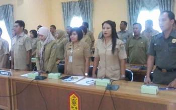 Peserta pendidikan dan pelatihan pengelolaan aset daerah.