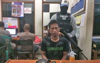 Pria Lulusan SD Ini Nekat Jual Sabu Hingga Diringkus Polisi