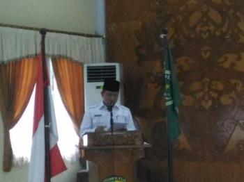 Wali Kota Palangka Raya Riban Satia.