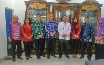Komisi II DPRD Kotim saat melakukan kunjungan ke DLH Provinsi Kalteng.