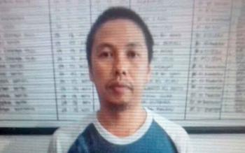 Hendra Gunawan alias Hendra tersangka kasus sabu.