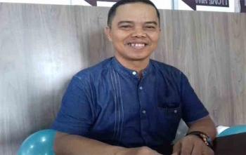 Ketua Forum Asosiasi Jasa Kontruksi (Forjasi) Kabupaten Kotawaringin Timur, M Gumarang