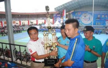 Teweh Tengah Juara Umum Porkab Barito Utara