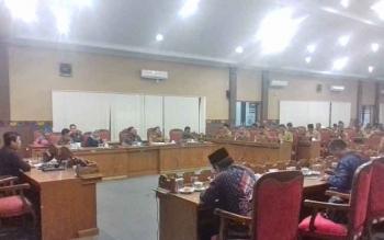 Pembahasan KUA-PPAS Perubahan 2017 di DPRD Kotim.