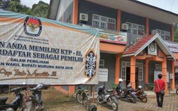 Kantor KPU Murung Raya yang sekarang berada di Jalan Untung Surapati, Kota Puruk Cahu.