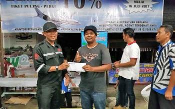 Trigana Air Pangkalan Bun Dukung Festival dan Kompetisi Burung Berkicau