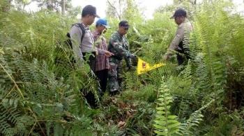 Tim terpadu melakukan patroli untuk mengantisipasi terjadinya kebakaran hutan dan lahan, beberapa waktu lalu.