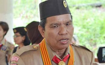 Pembina Kwarcab Pramuka Barito Utara, H Asran