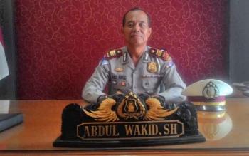 Kasatlantas Polres Kapuas AKP Abdul Wakid