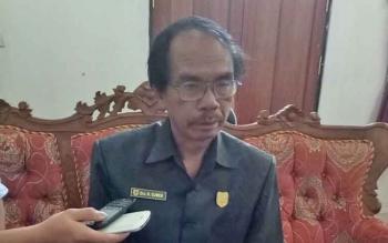Ketua DPRD Gumas Gumer.