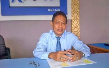 Kepala Seksi Verifikasi dan Akutansi KPPN Buntok, Sarto.