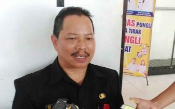 Kepala Disdalduk dan KB Kabupaten Gumas, Isaskar.