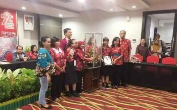 Pelajar SMAN 1 Kurun Juara Pertama LTTK Tingkat Provinsi Kalteng