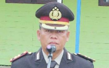Kabid Humas Polda Kalteng, saat mengunjungi Lamandau, Kamis (17/8/2017).