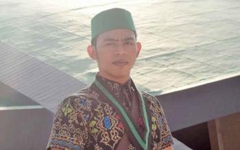 Ketua Himpunan Mahasiswa Islam Cabang Kuala Kapuas Muhammad Mirza.