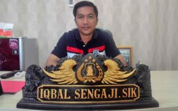 Kasat Reskrim Polres Kapuas AKP Iqbal Sengaji.