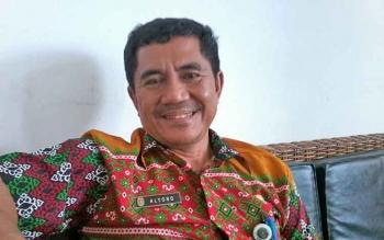 Kepala Dinas Pekerjaan Umum (DPU) Kabupaten Katingan, Alyono.BORNEONEWS/ABDUL GOFUR