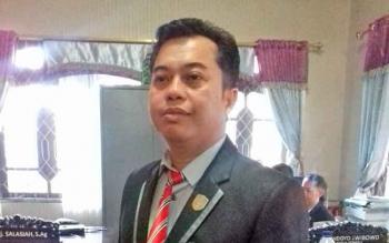Ketua Komisi III DPRD Kotim, Rimbun.