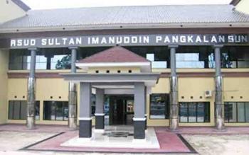 Bangunan RSUD Sultan Imanuddin Pangkalan Bun.