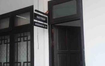 Ruang penyidik tindak pidana khusus Kejaksaan Negeri Kotim