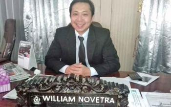 Anggota Komisi I DPRD Kotim, William Novetra.