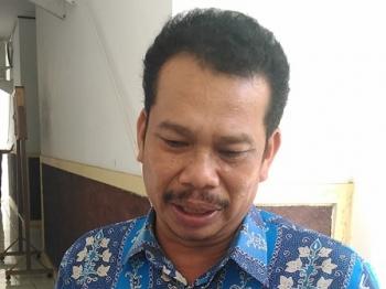 Direktur PDAM Gunung Mas, Guntur J Ruben.