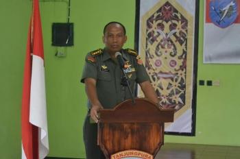 Ketua Tim Serapan Gabah dari Mabes TNI-AD, Kolonel Inf Henry Batara.