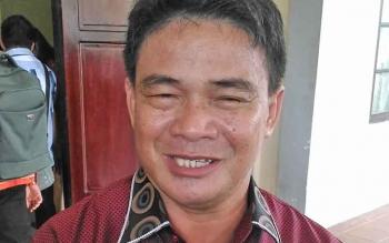 Kepala Dinas Perberdayaan Masyarakat dan Desa Kabupaten Gumas, Yulius Agau.