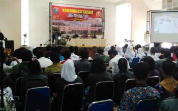 Perkuat NKRI, TNI Gelar Komunikasi dengan Pemuda di Pulang Pisau