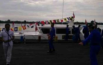 Armada milik Direktorat Polair Polda Kalteng.