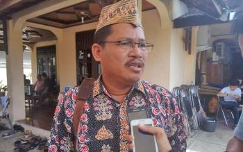 Ketua Harian Dewan Adat Dayak Kota Palangka Raya, Mambang Tubil.