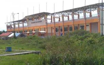 Progres pembangunan lanjutan Stadion HM Sanusi Pulang Pisau.
