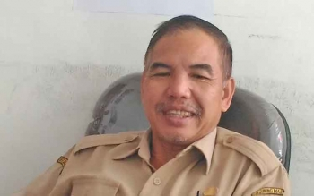 Kepala Bagian Kesejahteraan Rakyat dan Kemasyarakatan Setda Gumas, Tito Andreas.
