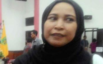Sekretaris Komisi C DPRD Kota Palangka Raya, Mukarramah.