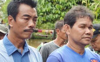 Kadisos PMD, Sugianto Panala Putra bersama asisten II Sekda Barito Utara, Hendro Nakalelo