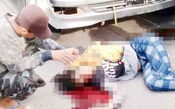 Kecelakaan lalu lintas yang menewaskan Ani Julia dengan tersangka Aris Setiono