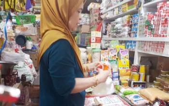 Pedagang Sembako di Pusat Perbelanjaan Mentaya (PPM) Sampit