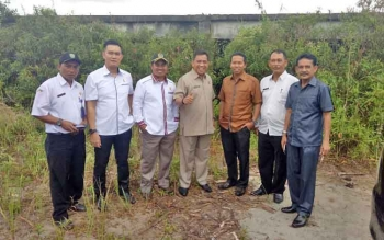 Sidak anggota DPRD Kotim Dapil II ke Sport Center.
