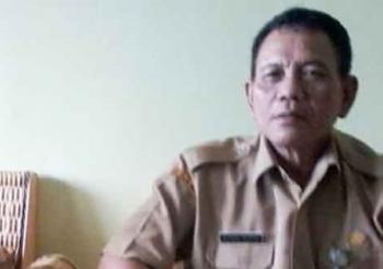 Kepala Badan Kesbangpol Katingan Achmad Munthu.