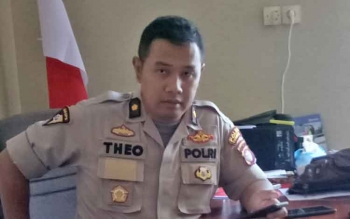 Kabag Ops Polres Gumas Kompol Theodorus Priyo Santosa.