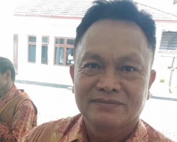 Kepala Disperindag Gumas Yulianus H Umar.