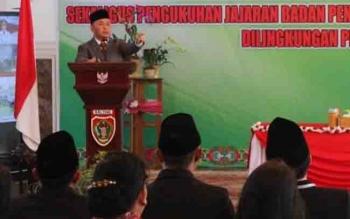 Gubernur Kalteng Sugianto Sabran dalam sebuah kegiatan.