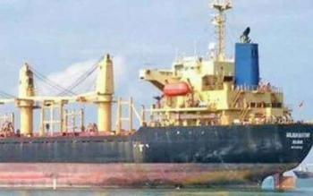 Kapal Golden Destiny yang lost contak pada Minggu (3/9/2017)