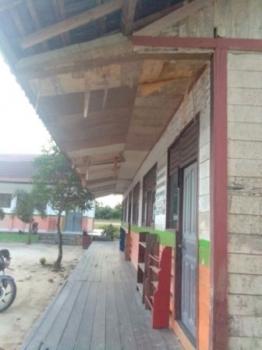 Kondisi plafon di SD Negeri 1 Rangda.